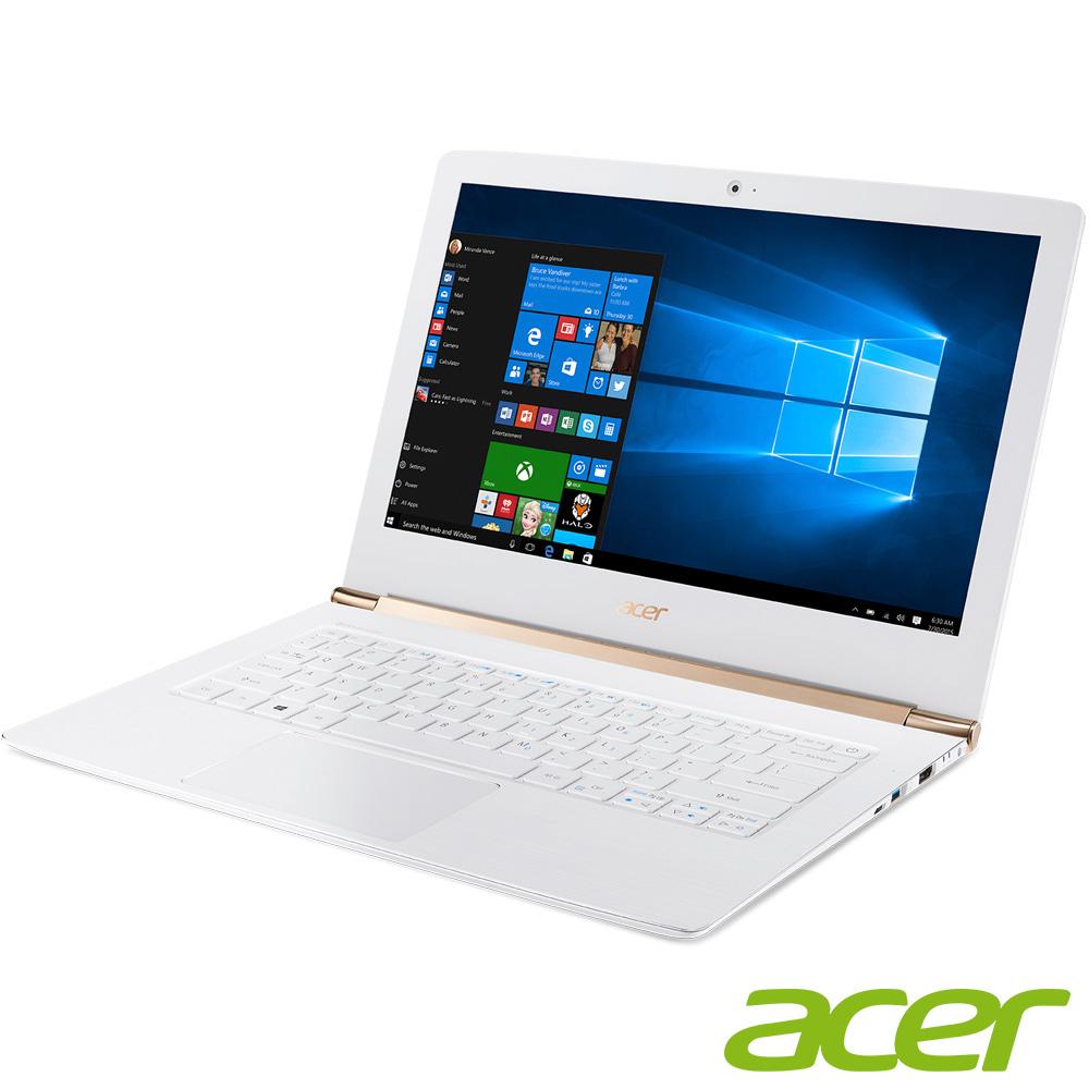acer S5-371-53NX 13吋筆電(i5-6200U/8G/256SSD/白
