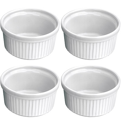 IBILI 陶製布丁杯4入(9cm)
