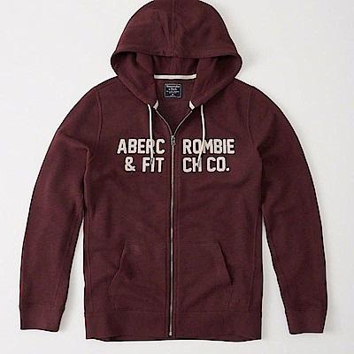 AF a&f Abercrombie & Fitch 外套 紅色 0541