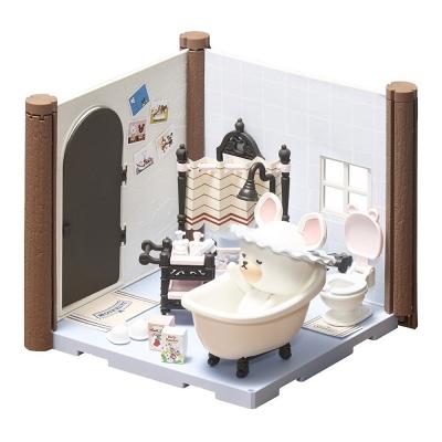 BANDAI 組裝模型 Haco Room 小熊學校 浴室套組