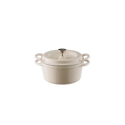 日本Vermicular琺瑯鑄鐵鍋14cm-自然四色可選