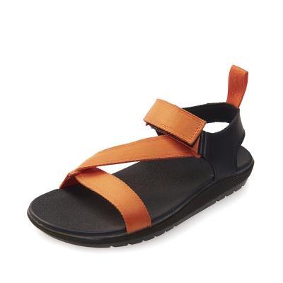 (女) Dr.Martens BALFOUR-Z字織帶輕量化涼鞋-橘色
