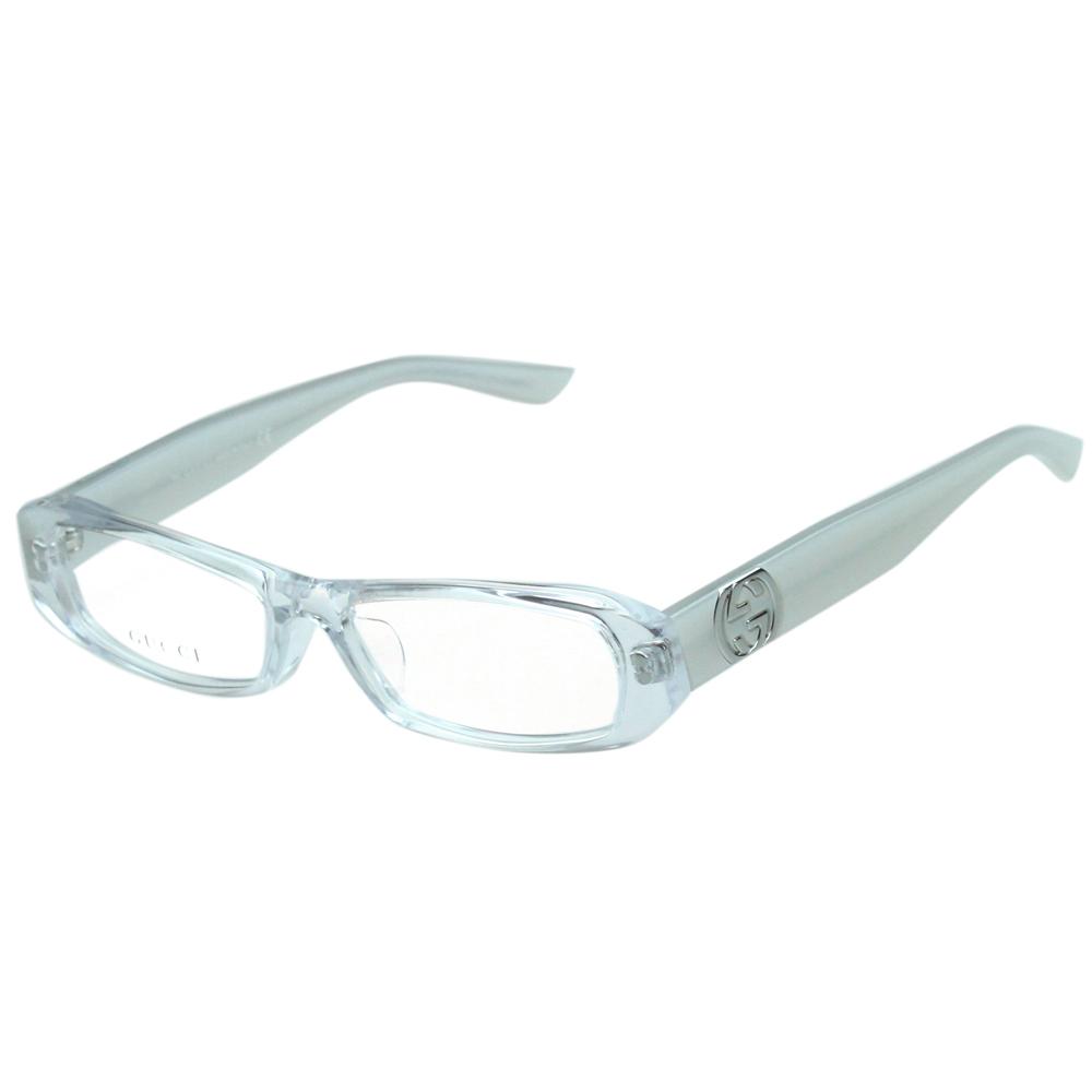 GUCCI-時尚光學眼鏡(透明/粉膚色)