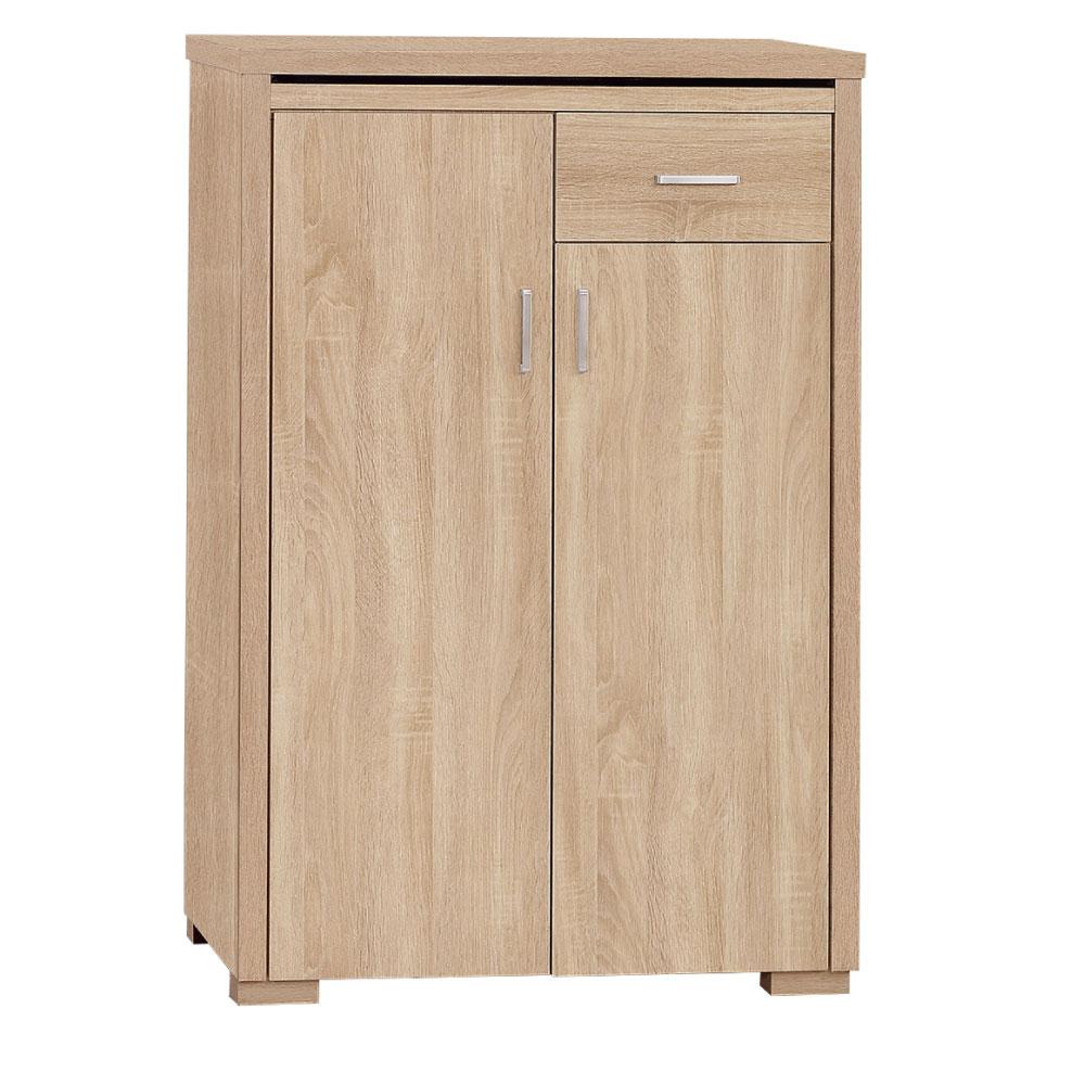 品家居 康諾2.6尺開門鞋櫃-79x40x106cm-免組