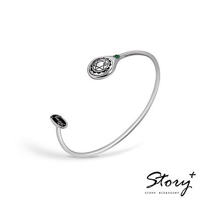 STORY-脈輪系列-心輪Heart Chakra純銀手環