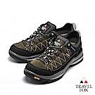 TRAVEL FOX(女) 看山是山 歐洲進口耐冷熱防滑戶外登山鞋- 灰黑色