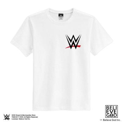 WWE正版授權WWE LOGO T恤 (白色)
