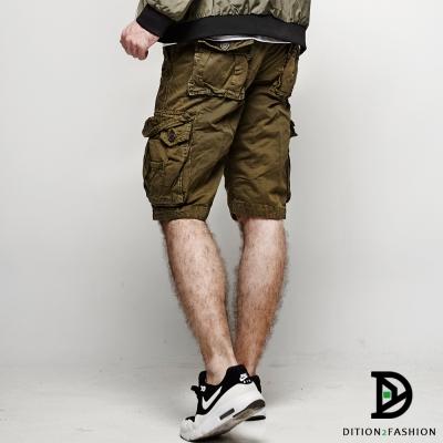 DITION 美式SLIDE機能多口袋工作褲 AF水洗風