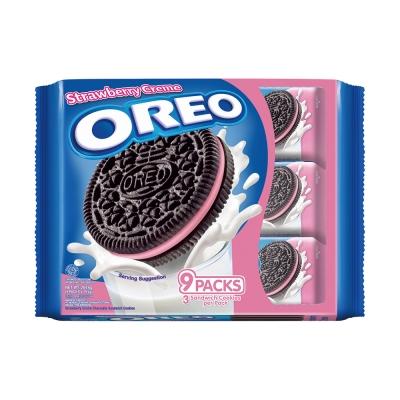 OREO奧利奧 草莓餅乾隨手包(29.4gx9入)