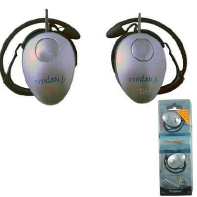 MP3專用頸掛式運動型耳機FR-620(兩入裝)
