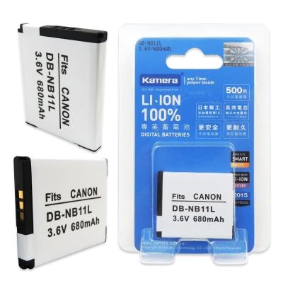 Kamera 佳美能 For Canon NB-11L 高容量相機鋰電池