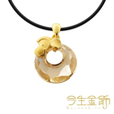 今生金飾 富貴猴墬 時尚黃金墬飾