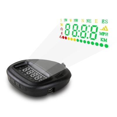 汽車-GPS衛星定位-HUD車速警示-抬頭顯示器