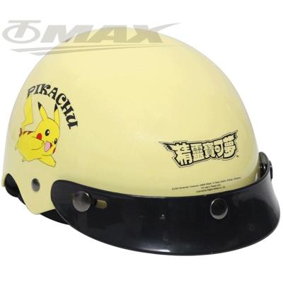 皮卡丘兒童專用安全帽-黃色