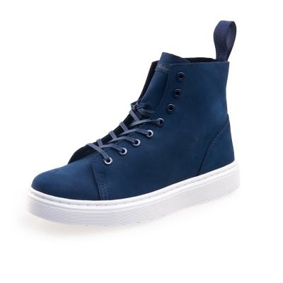 (男) Dr.Martens TALIB 8孔高筒休閒鞋*藍色