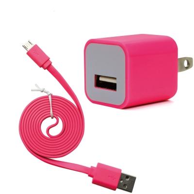 iBRIDGE AC電源轉USB電源轉接頭+Micro 5Pin 傳輸線