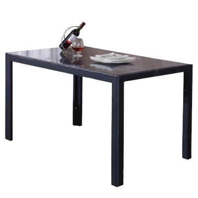 AT HOME-羅禮士4.6尺水波岩餐桌