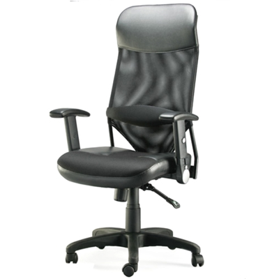 【福利品】愛倫國度 - 第二代透氣尼龍網背主管椅i-RS535SGA-B