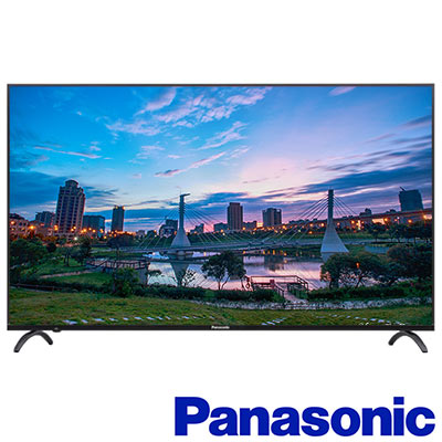 Panasonic國際  55 吋  4 K 連網液晶顯示器+視訊盒 TH- 55 EX 550 W