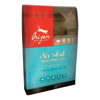 渴望Orijen 成幼貓六種鮮魚+海藻 貓糧 6.8kg x 1包