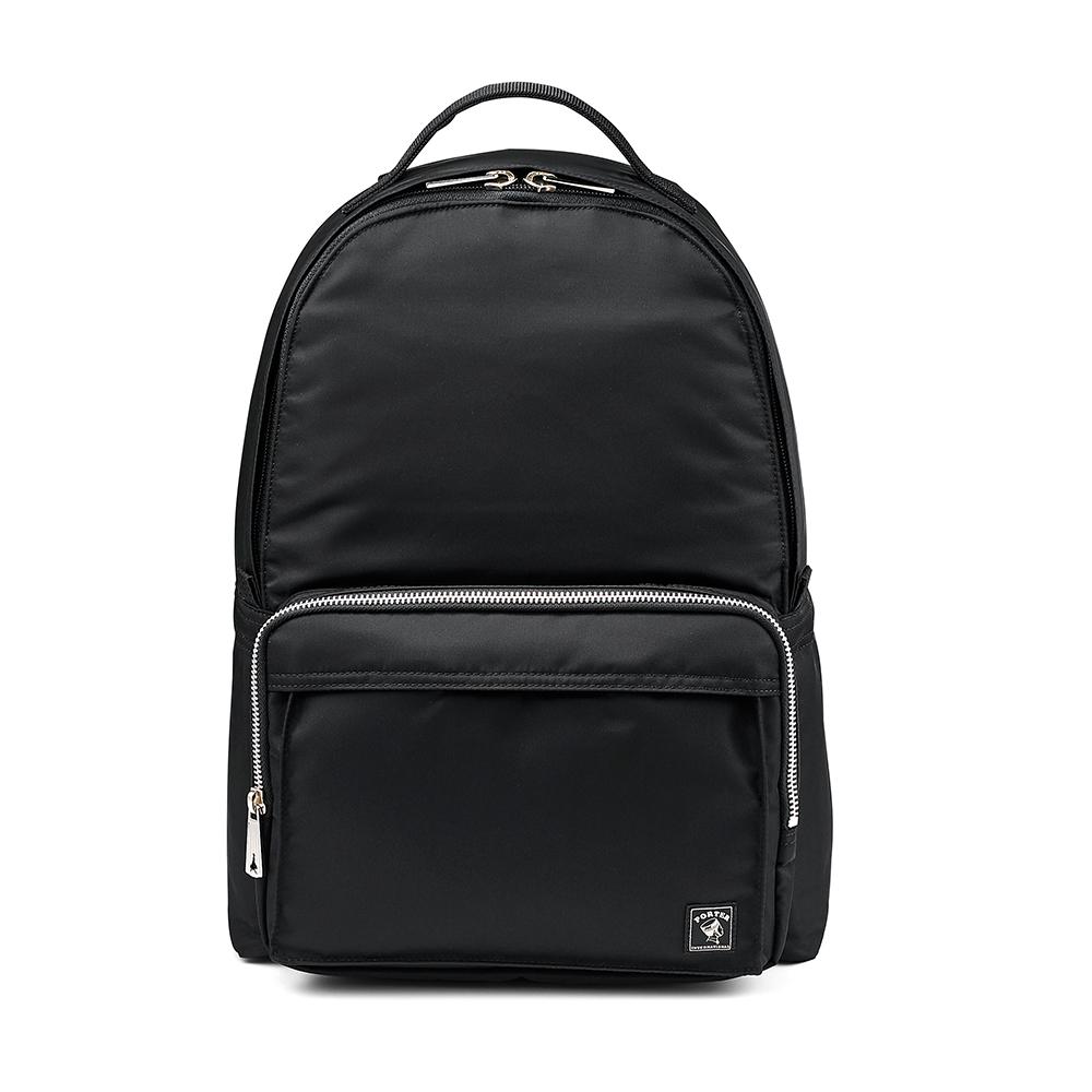 PORTER - 經典氣度MA-1+簡約時尚後背包 - 黑