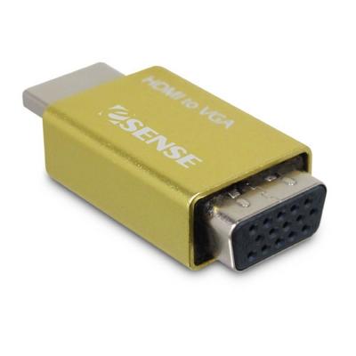 Esense HDMI TO VGA 免電源 轉接器