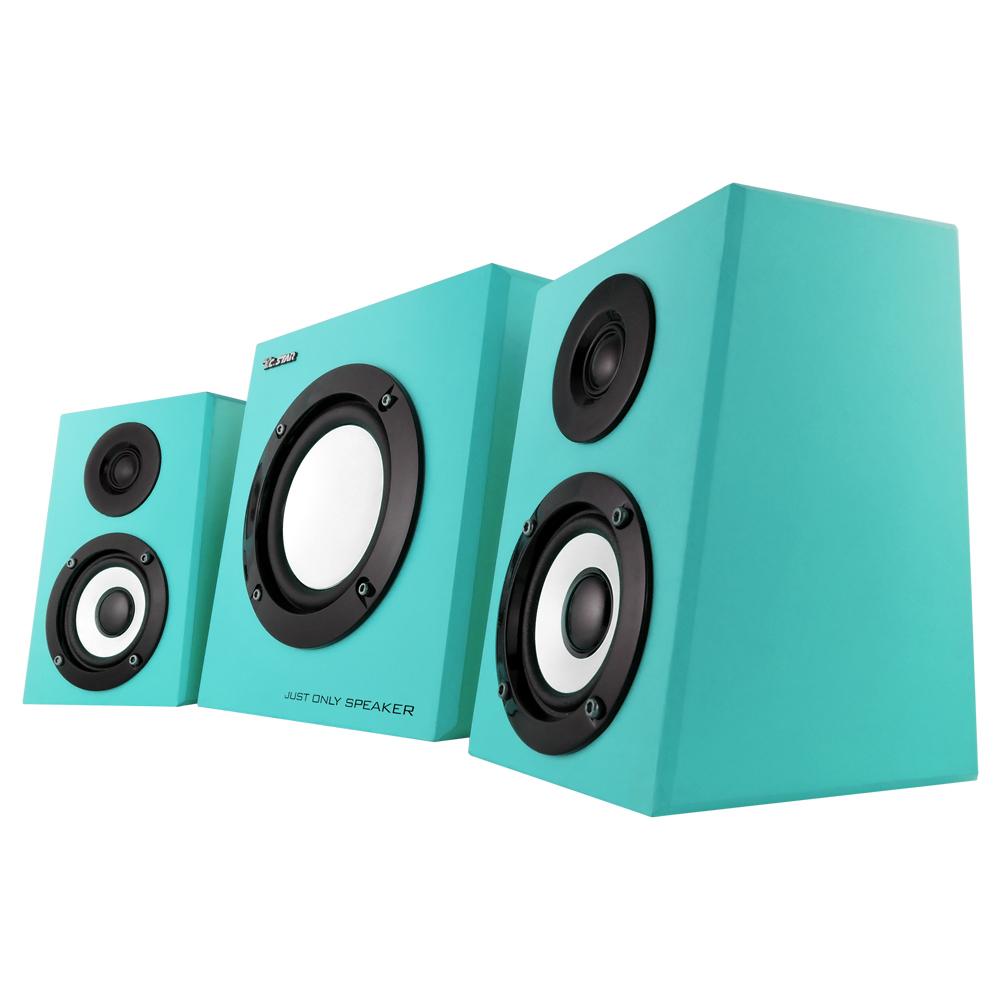 福利品TCSTAR 2.1聲道三件式多媒體喇叭中TCS4100