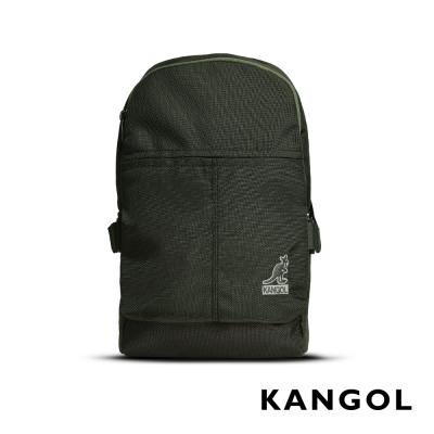 KANGOL 韓國經典單肩休閒包/學生包/情侶包-灰綠 KG51151A