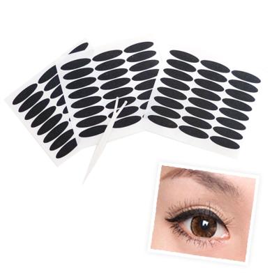 貝禮綺美妝☆韓國雙眼皮貼眼線貼(黑色)寬版3mm不反光自然款-超值144枚入贈Y型棒