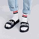 DADA SUPREME A.D.A.N. 潮流運動拖鞋-男-黑