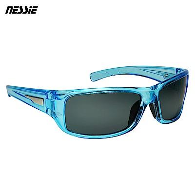 Nessie尼斯眼鏡 經典休閒偏光太陽眼鏡-水晶藍