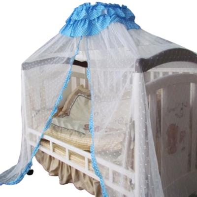 YIP Baby 多功能高級嬰兒床蚊帳組(L/藍)