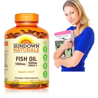Sundown日落恩賜 高單位精純魚油(200粒/瓶)