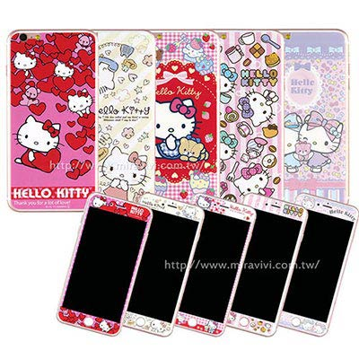 Sanrio iphone6 plus/6s plus雙面強化玻璃保貼-KITT...