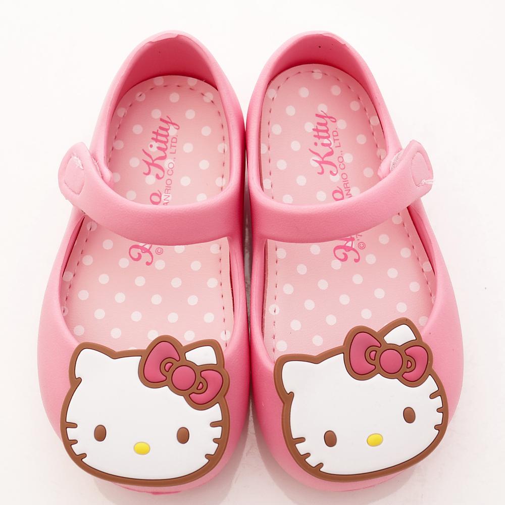 HelloKitty童鞋-輕巧娃娃鞋-EI18161粉(中小童段)