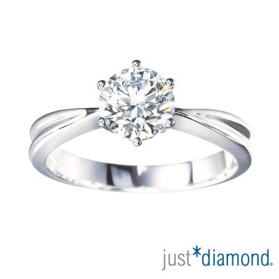 Just Diamond 30分18K金鑽石戒指-鍾愛一生(經典版)