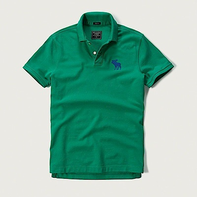 AF a&f Abercrombie & Fitch POLO 綠色 0773