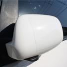 象皮貼 隱形防刮保護膜-後視鏡 專用 8X25cm(2入) -快