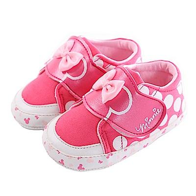迪士尼米妮強力止滑寶寶鞋 桃 sk0278 魔法Baby