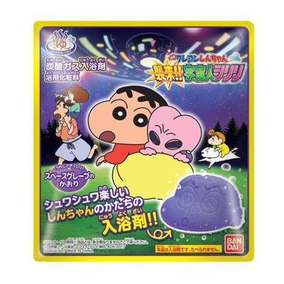 日本Bandai-電影版蠟筆小新入浴劑(襲來!!宇宙人Shiriri)-12入
