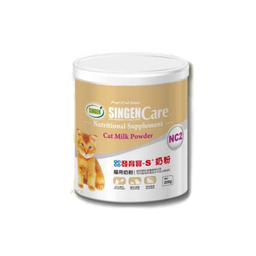 發育寶 Care系列-NC2貓用奶粉200g 2入