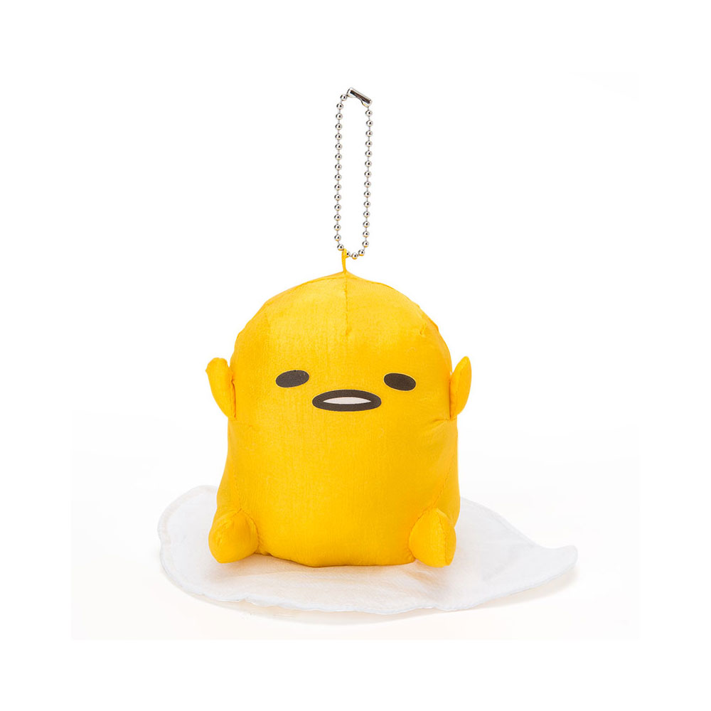 Sanrio 蛋黃哥懶懶荷包蛋系列玩偶吊鍊