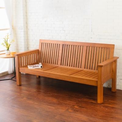 Bernice 喬納森實木三人椅