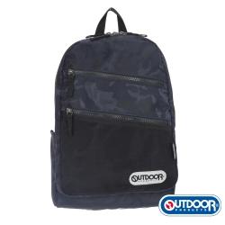 OUTDOOR- 迷彩圖騰系列-後背包S-藍迷彩-OD271109NY