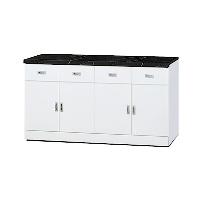 品家居 亞莉特5.3尺石面餐櫃下座-160x42.7x83.8cm免組
