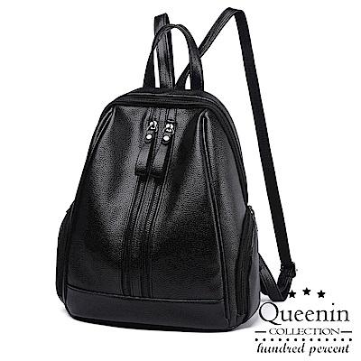 DF Queenin日韓 - 探訪日本單色風潮後背包-共2色