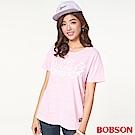 BOBSON 女款印圖寬版上衣