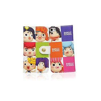 【摩達客】韓國Fabulous進口 麻吉好友方格彩色iPhone5手機皮套