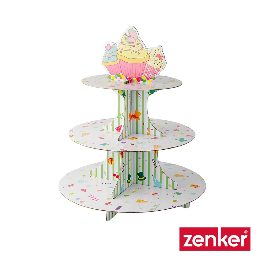 德國Zenker 三層杯子蛋糕架 (8H)