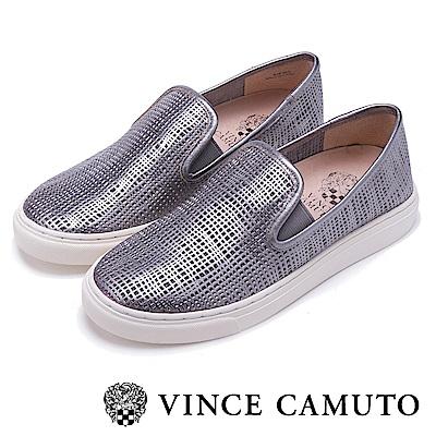Vince Camuto 潮流休閒百搭平底懶人鞋-鐵色